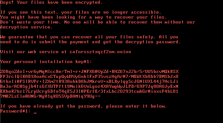 Not Petya Strikes Back as Bad Rabbit Ransomware