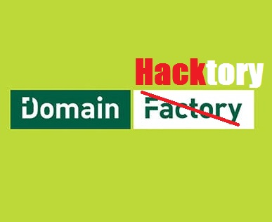 DomainFactory Hacked!
