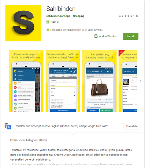 Fake Google Store Apps infecting users with BankBot Anubis Malware