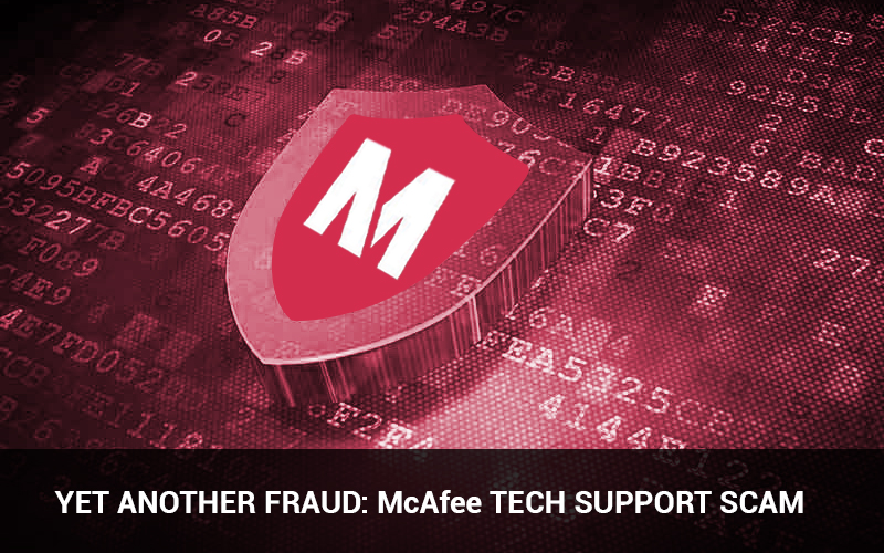 McAfee Tech Support Scam