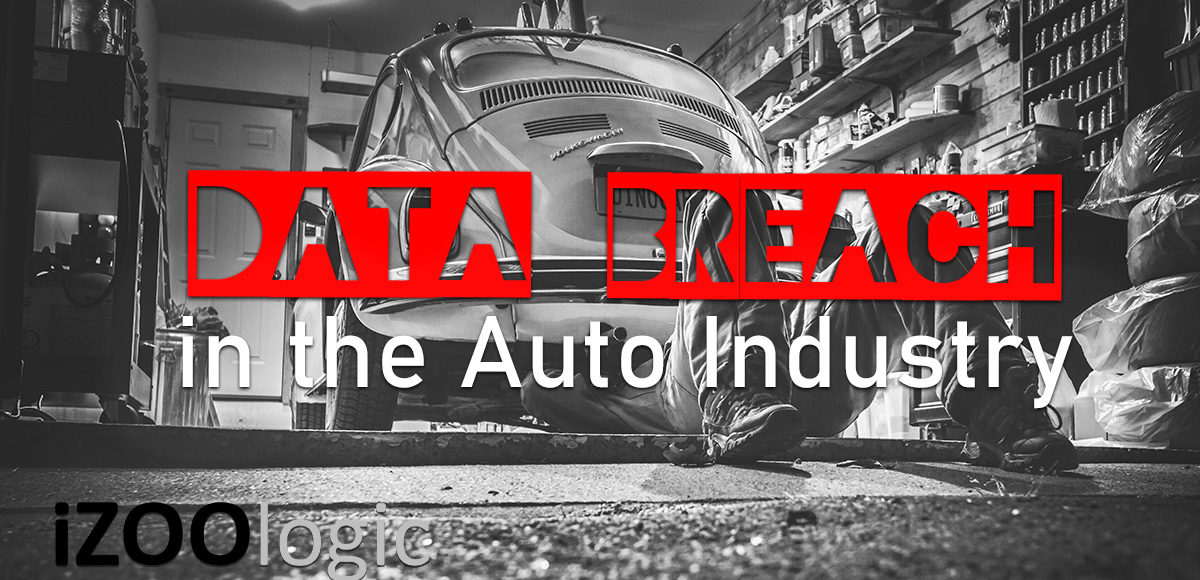 data breach compromised data auto industry