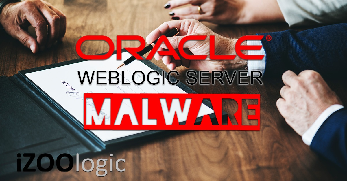 oracle weblogic server malware certificate