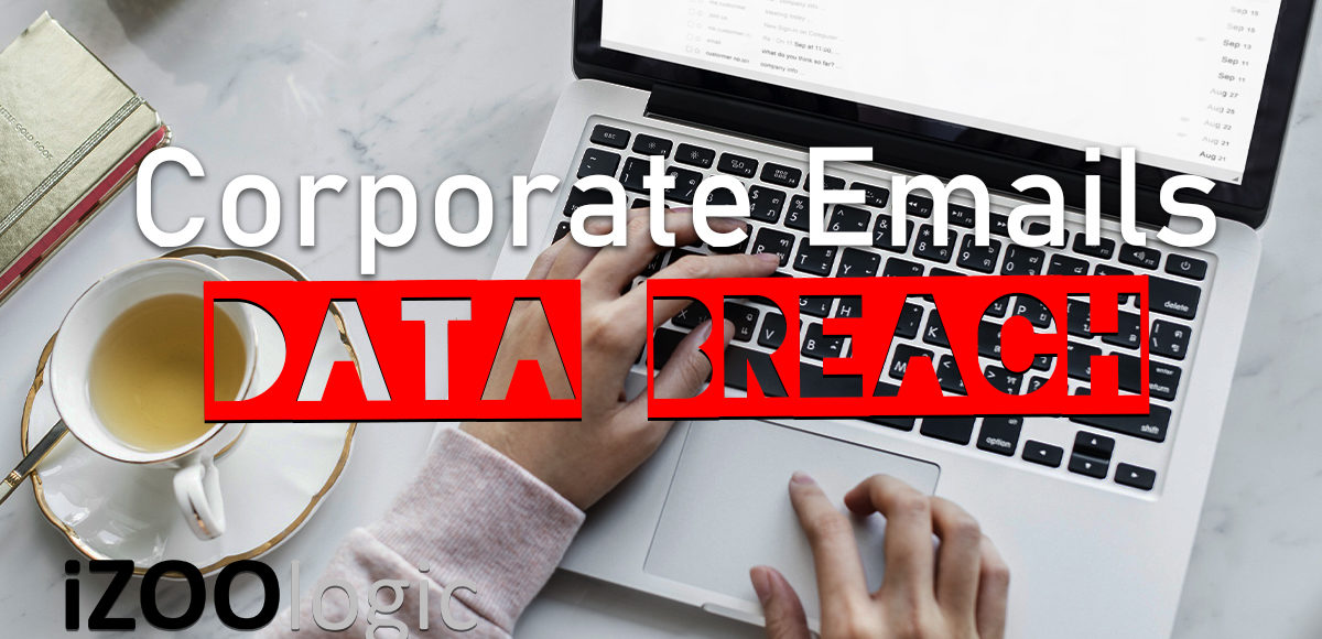 corporate email hacking data breach databreach