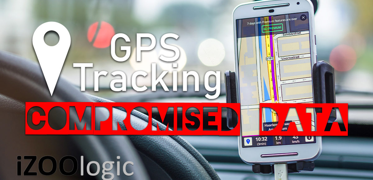 gps tracker compromised data