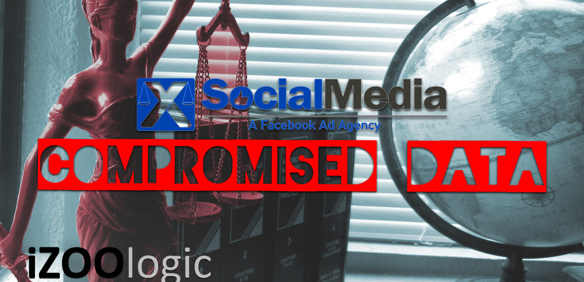xsocialmedia advertising agency compromised data 3rd party risk assessment