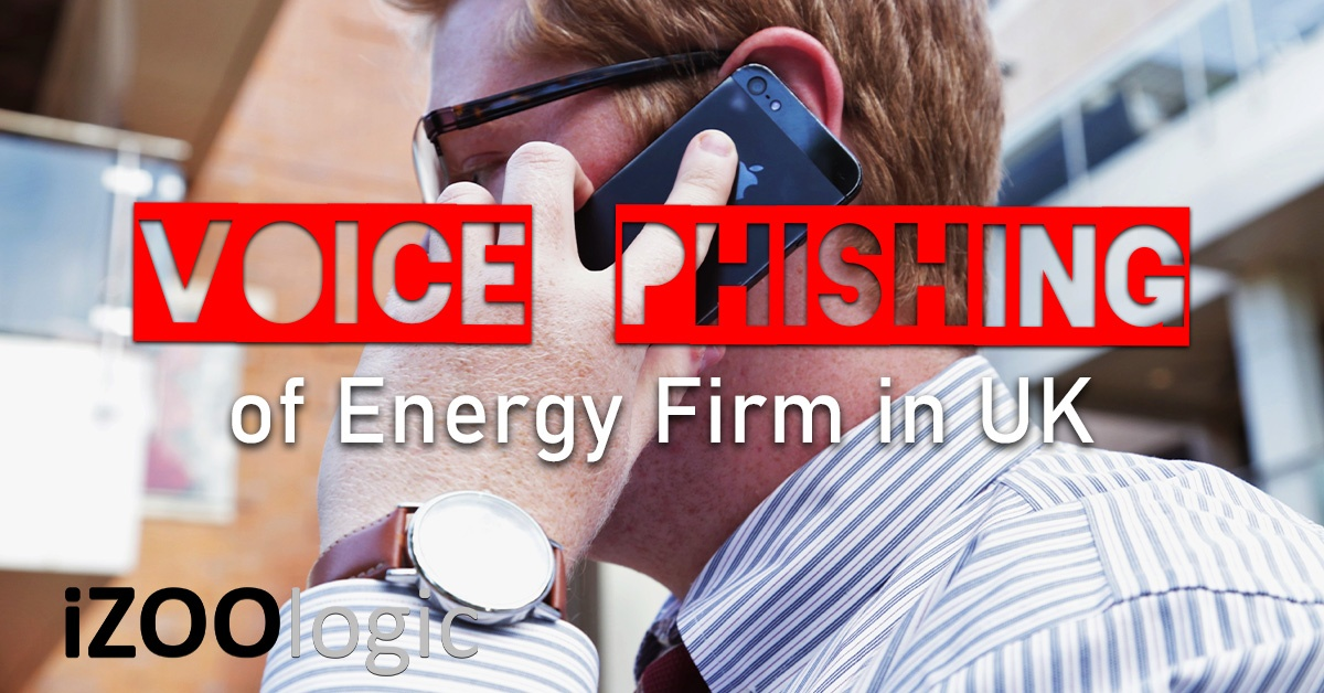 uk energy firm vishing voice phishing ai