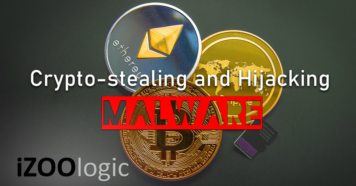cryptostealing hijacking vidar malware bitcoin cryptocurrency