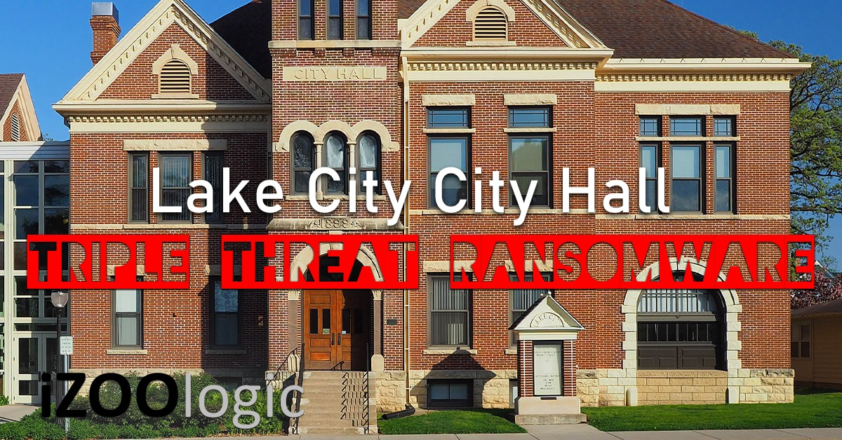 lake city city hall triple threat ransomware malware antimalware