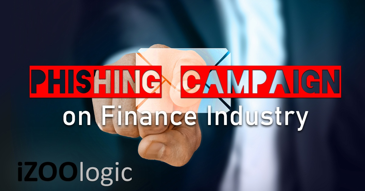phishing campaigns financial industry threat advisory finance institution