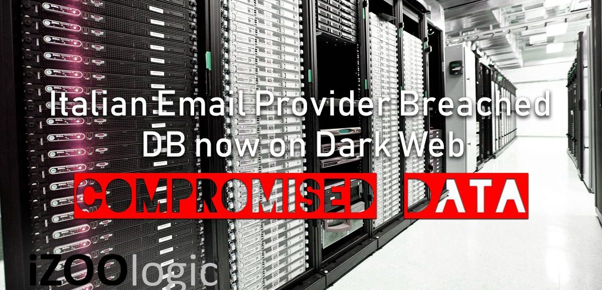 italian email provider breached darkweb compromised data stolendb