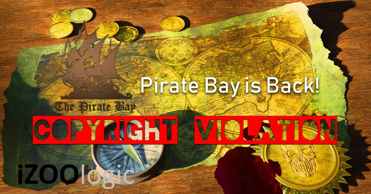 piratebay pirate bay original domain copyright and trademark protection brand monitoring