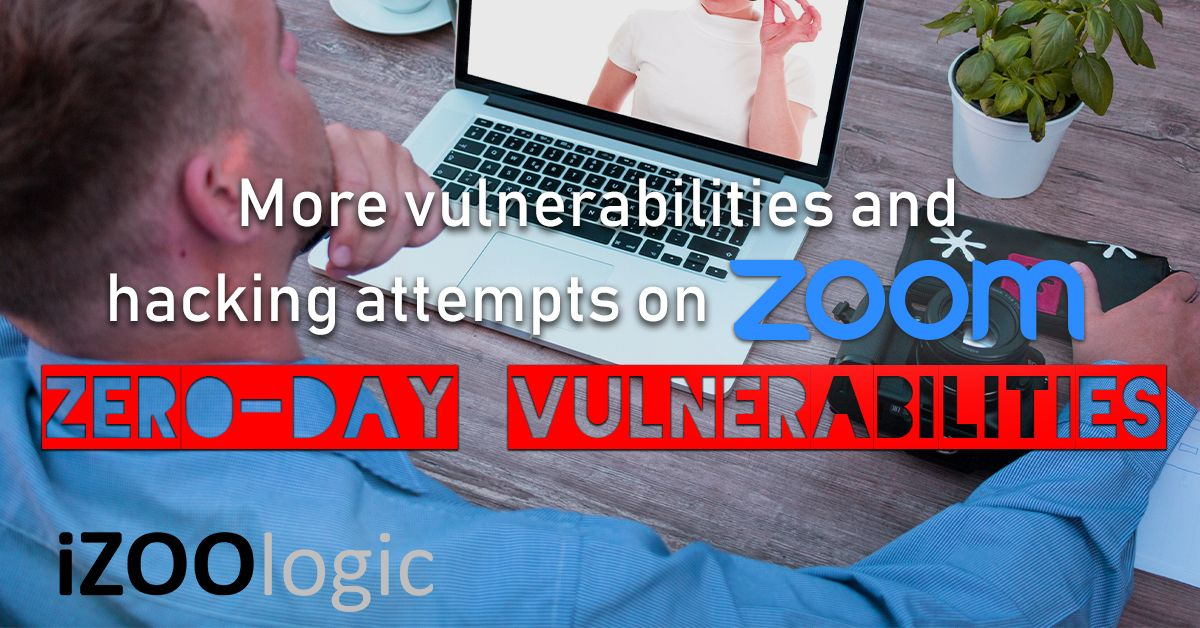 zoom zero day vulnerability hacking darkweb data privacy security threat