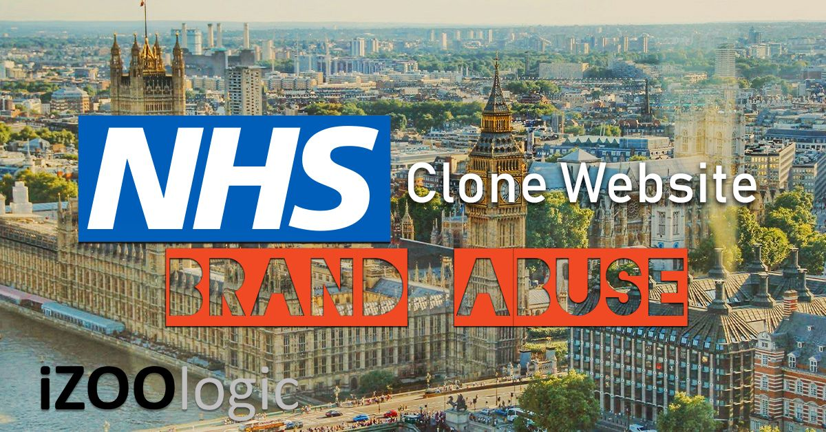 nhs national health service website cloned malware phishing fake website trojan antitrojan brand protection brand abuse