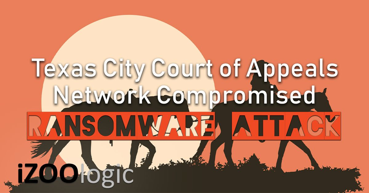 texas city court of appeals ransomware attack