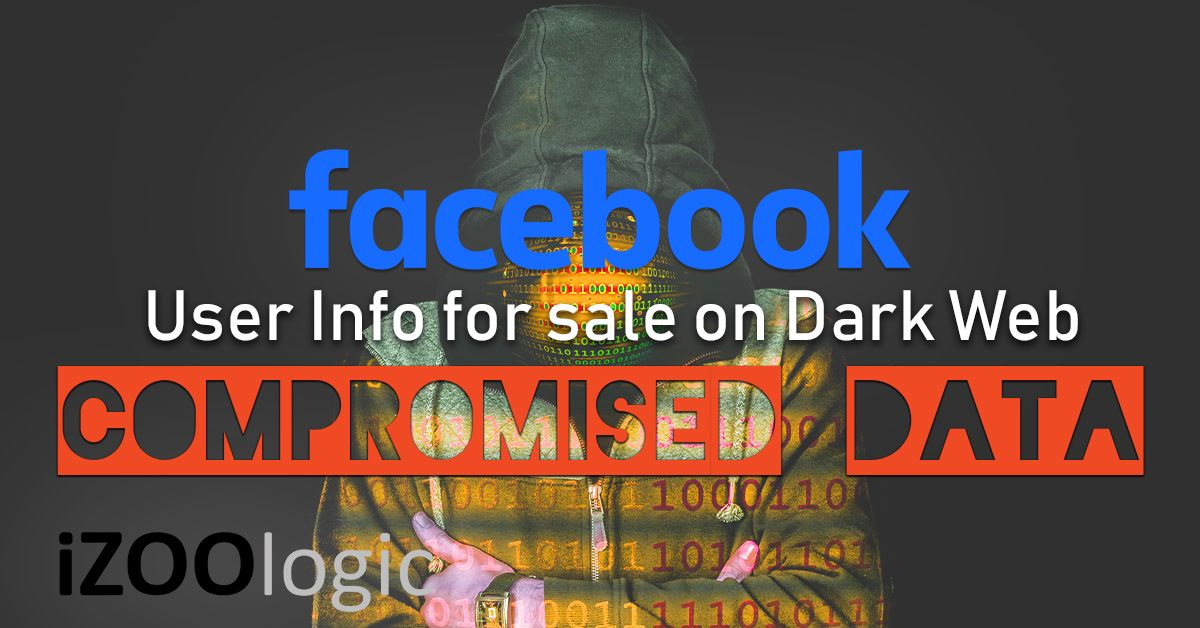 facebook dark web data leak compromised data