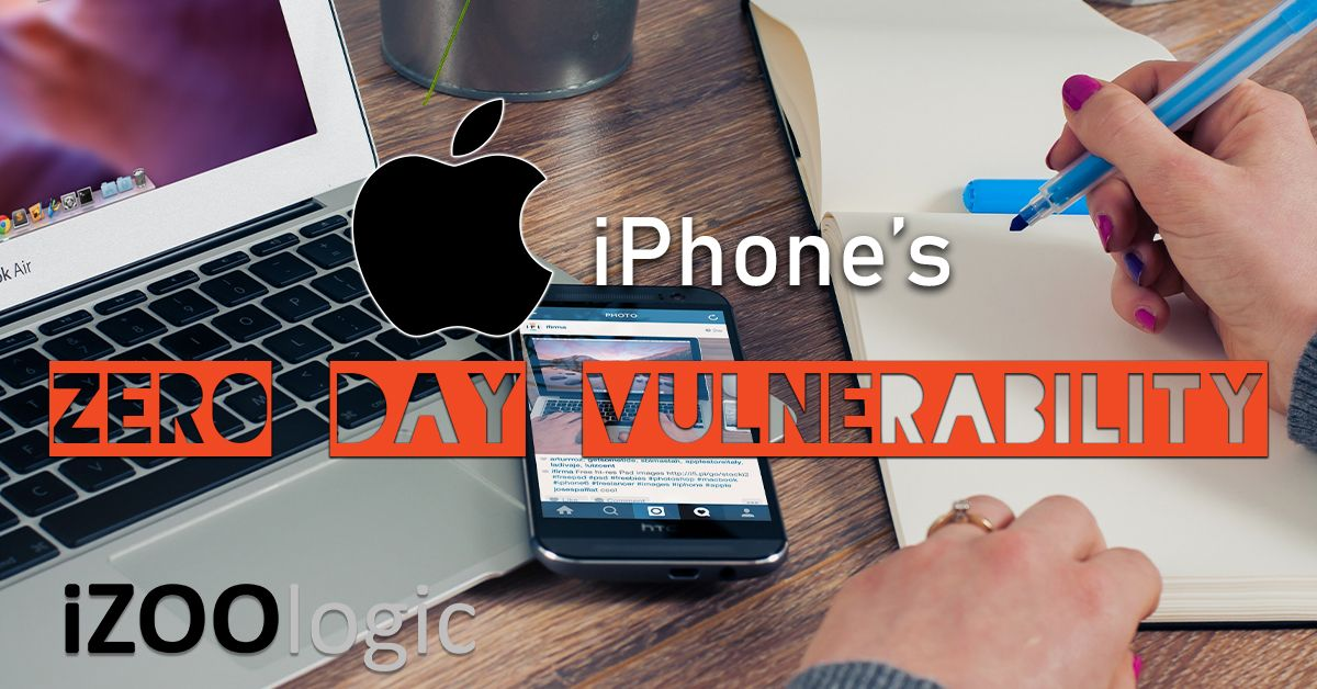 apple iphone zero day vulnerability cyberattack email hackers hacking infosec information security