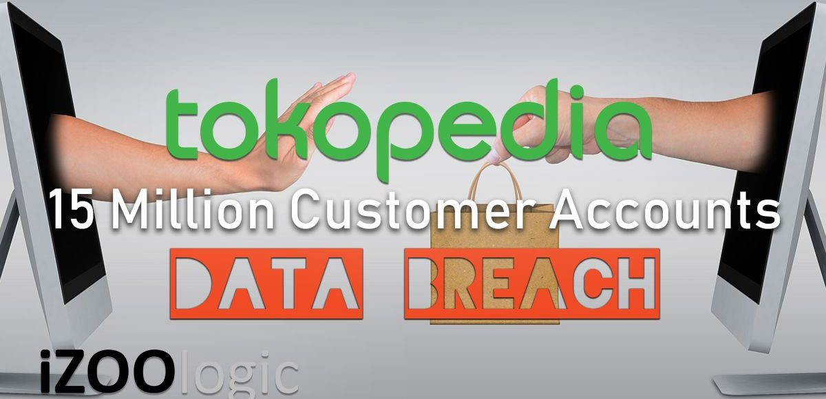 tokopedia data breach compromised data infosec information security hacking hackers