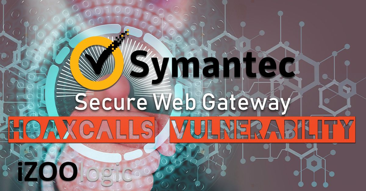 symantec secure web gateware vulnerability
