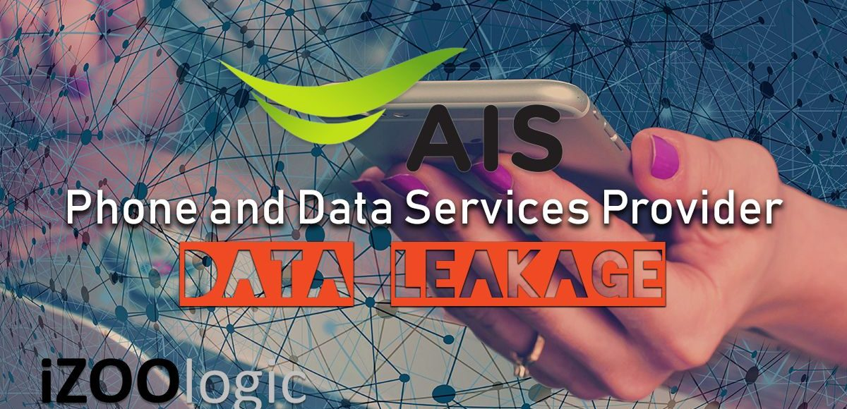 ais phone data services provider data leakage compromised data data leak infosec privacy information security thailand
