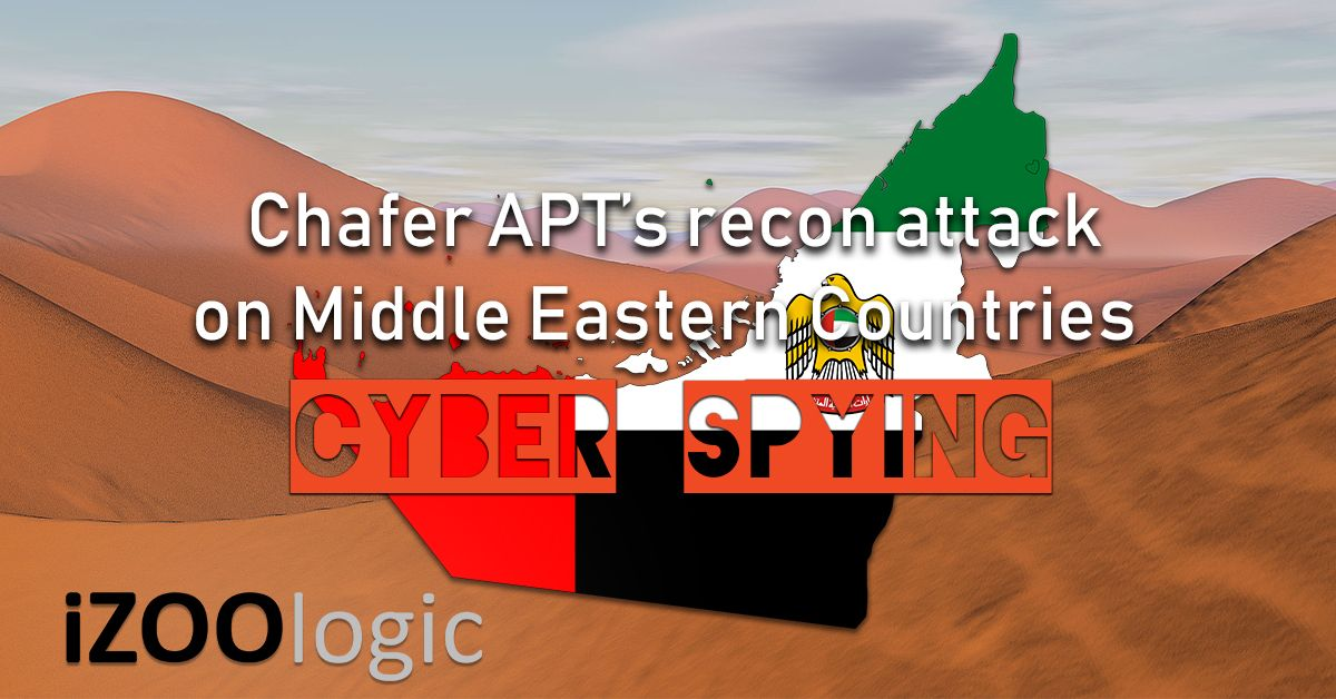 middle east chafter apt recon cyber attack