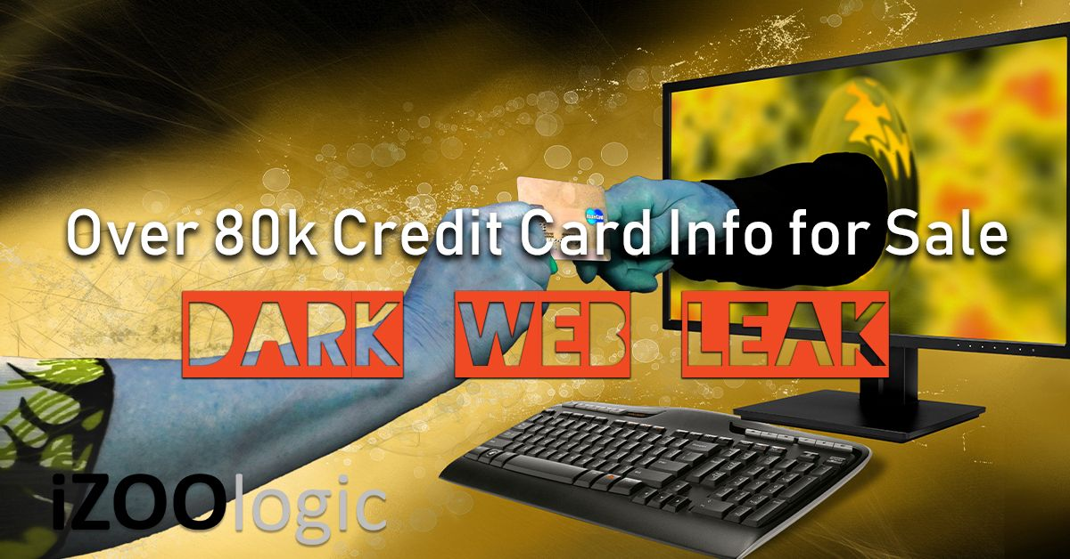 credit card dark web leak
