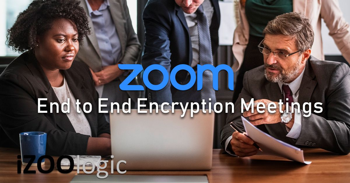 zoom end to end encryption meeting e2ee