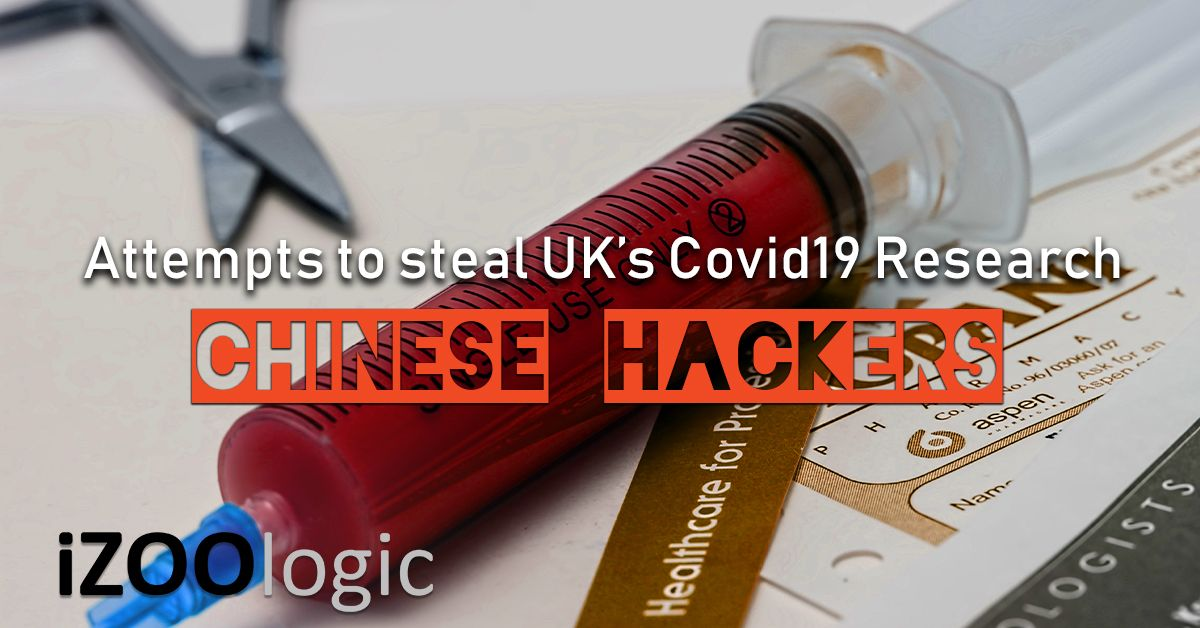 china hackers covid19 research uk cyber attack chinese hackers
