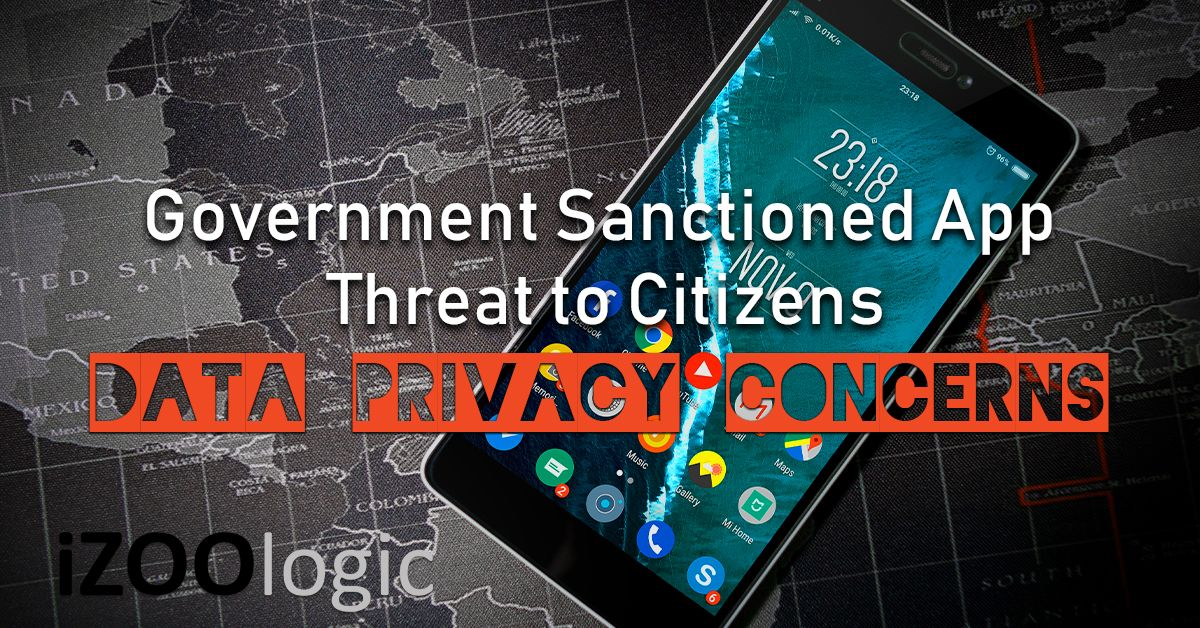 government app threat citizens infosec data privacy