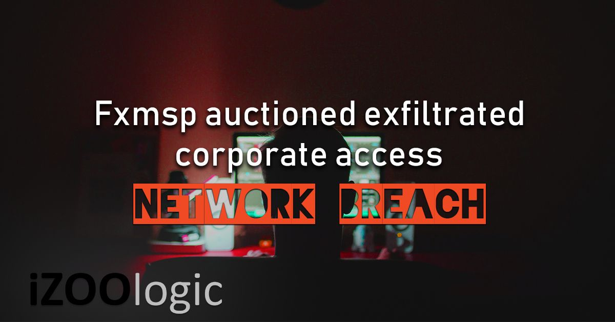 Fxmsp corporate network access for sale