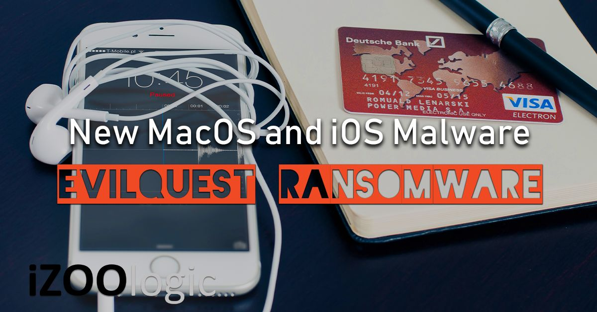 evilquest ransomware macos ios malware antimalware
