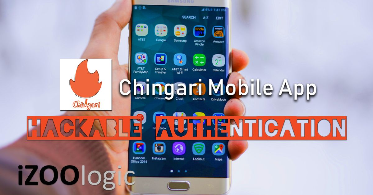 chingari mobile app hackable authentication