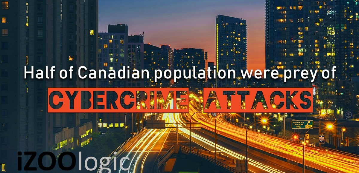 cybercrimes cyber attack canada canadian population fraud prevention
