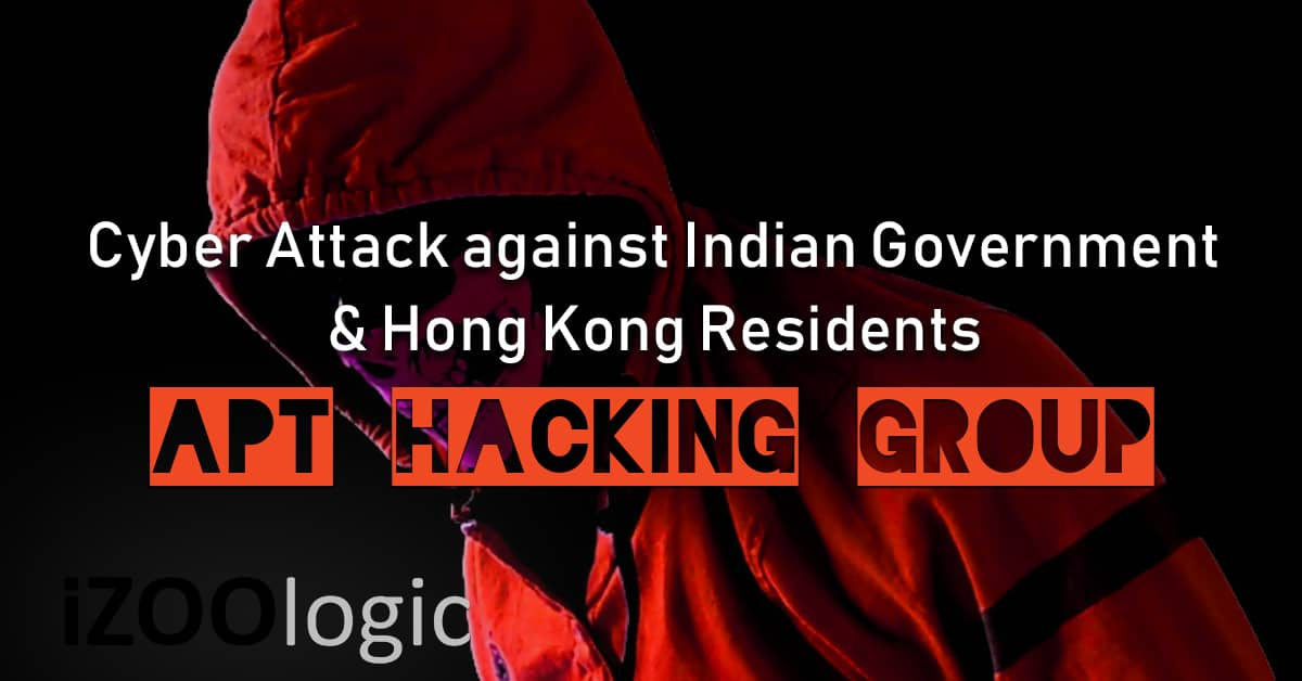 chinese hackers indian government hong kong residents