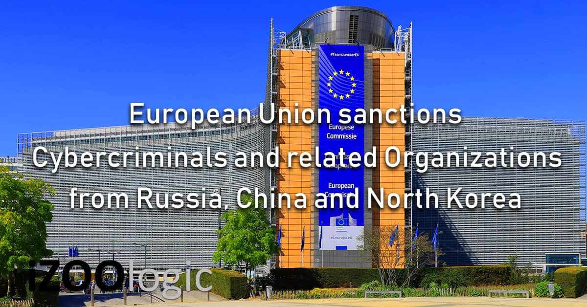 european union sanction cyber criminal cybercriminal crybercrime russia china north korea hacking group