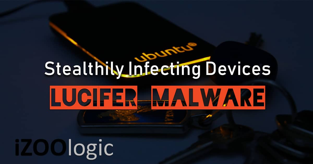 lucifer malware linux botnet antimalware spear phishing email