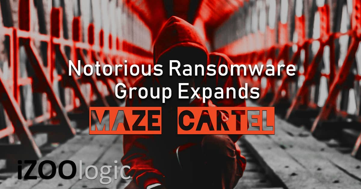 maze ransomware group cartel conti suncrypt malware trojan antimalware solutions