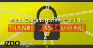 thanos ransomware dark web south africa middle east ransomware as a service malware antimalware trojan