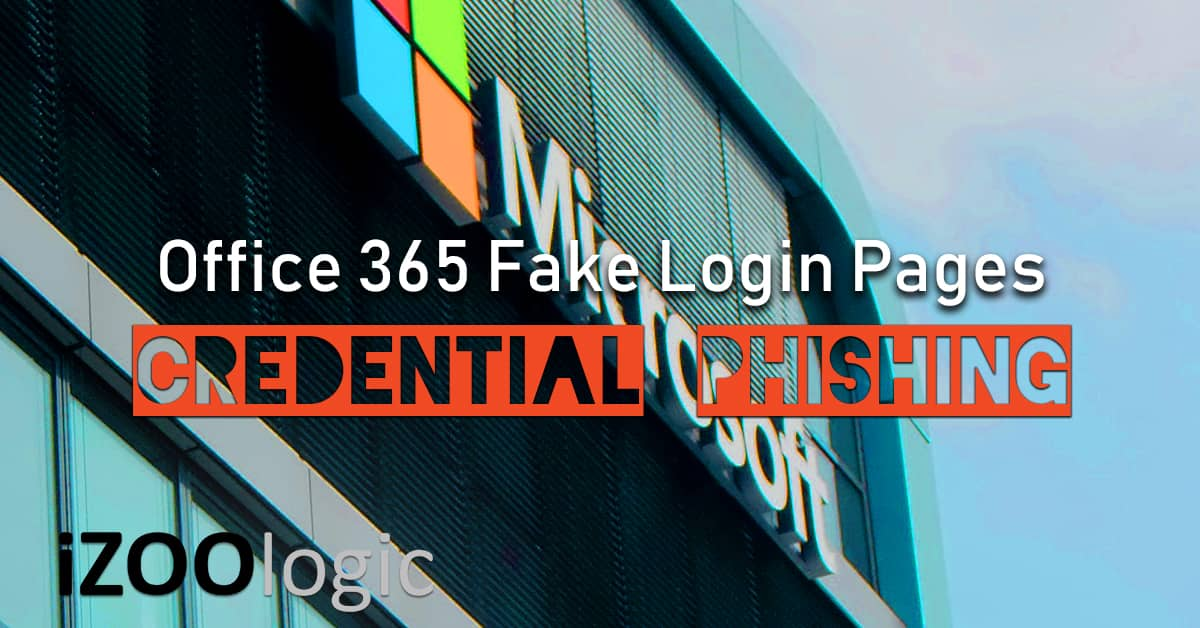 office 365 phishing attack fake login pages hacking compromised domain