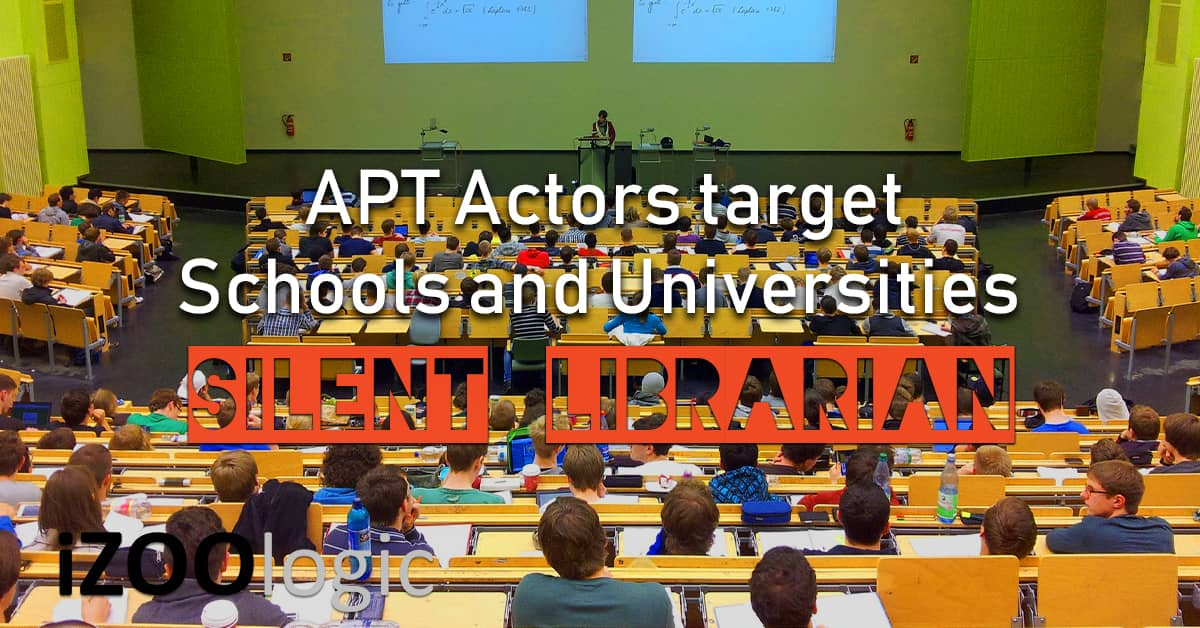 silent librarian apt school universities malware hackers iran iranian