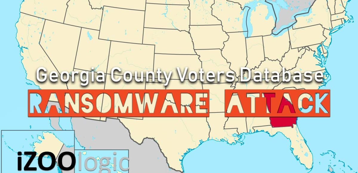 georgia county ransomware attack malware us election