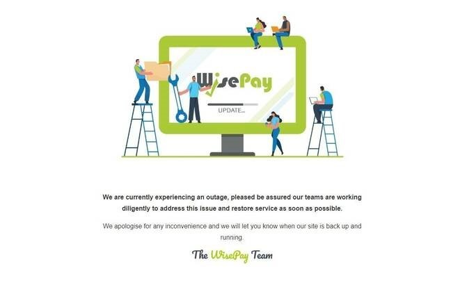 wisepay outage image 1