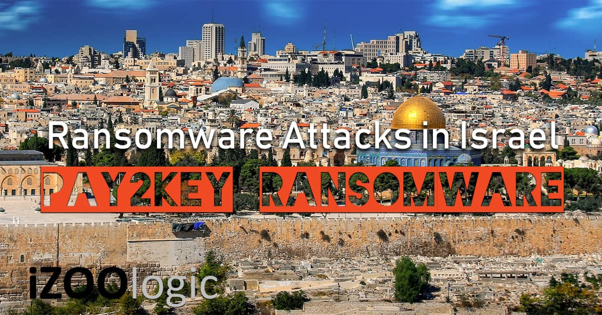pay2key ransomware attacks israel malware antimalware cyber attacks