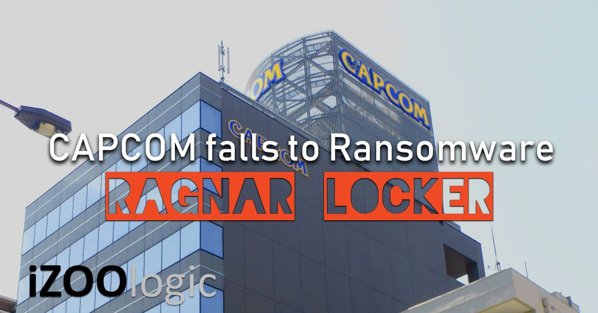 capcom ransomware attack ragnar locker
