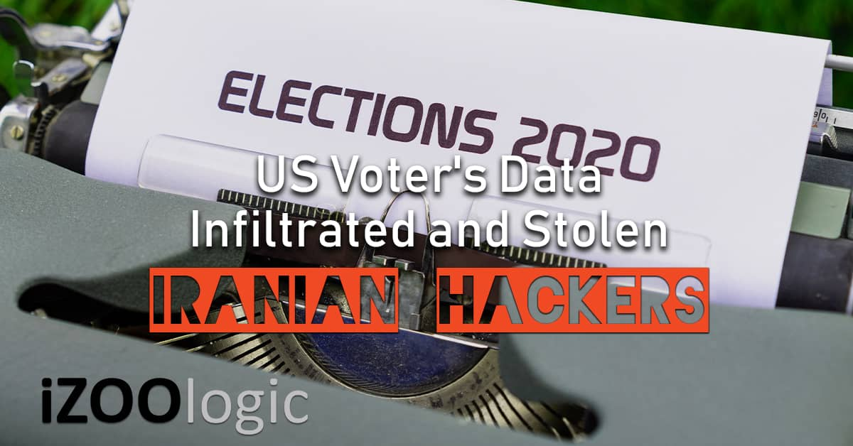 iranian hackers US voter's data hacking FBI