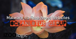 oceanlotus fake news websites malware APT32