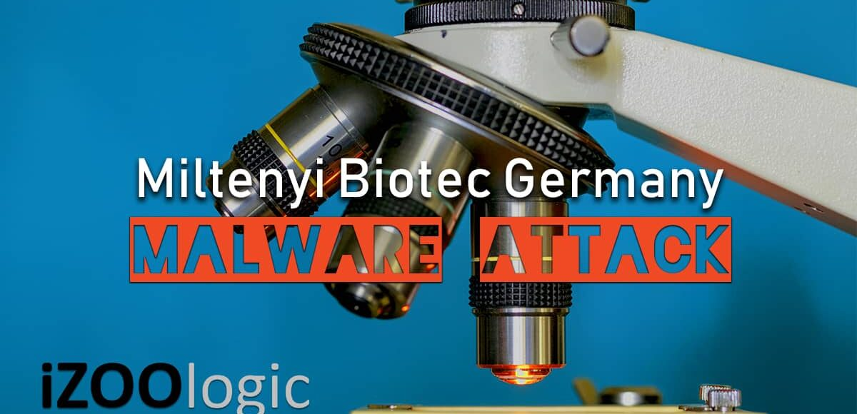 germany Miltenyi Biotec malware attack ransomware