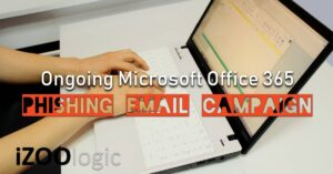 microsoft office 365 phishing email campaign
