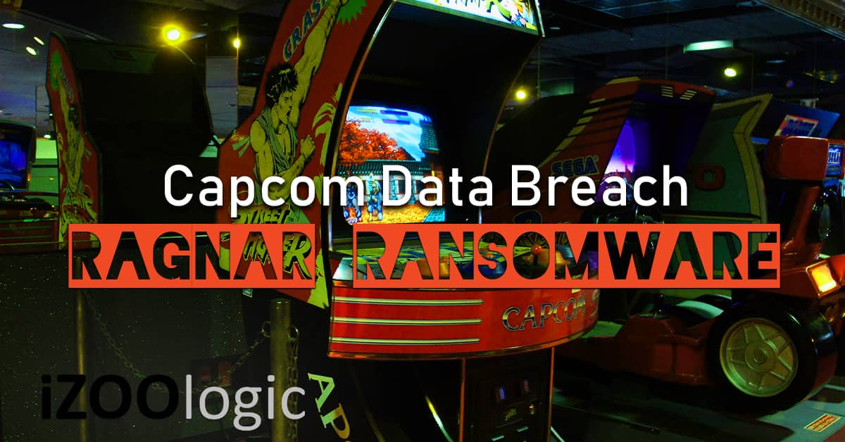 capcom data breach ragnar ransomware malware