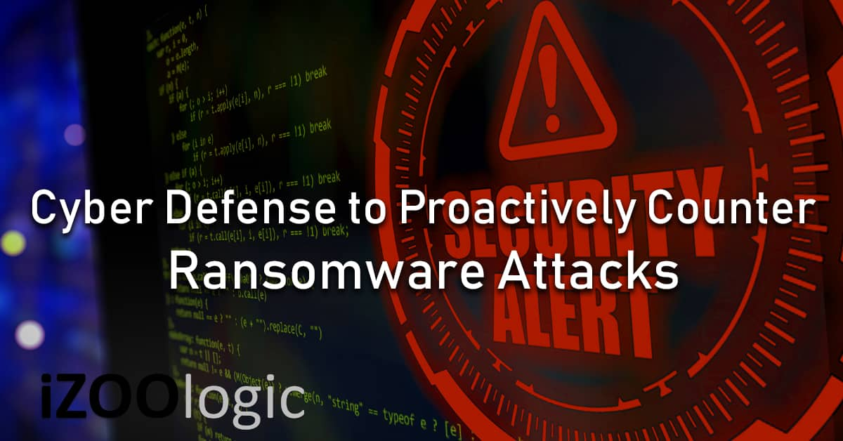 ransomware proactive defense ransomware attack
