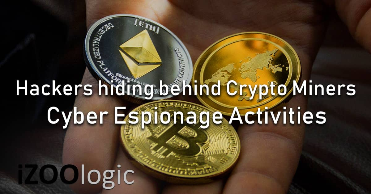 hackers cryptominers crypto miners currency OceanLotus APT32 cyber espionage reconnaissance